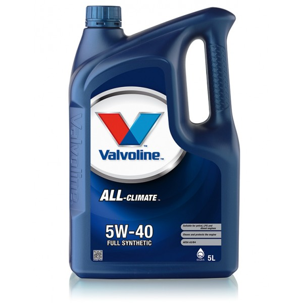 Valvoline All Climate 5W-40, 5л.