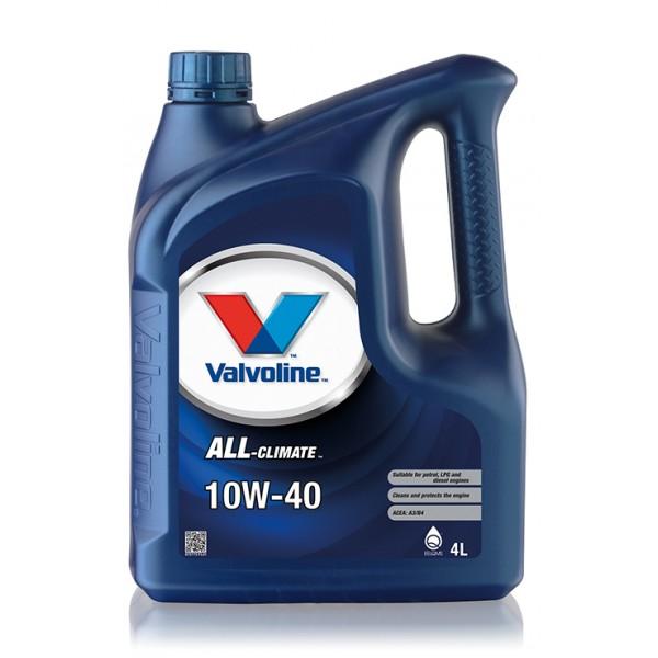 Valvoline All Climate 10W-40, 4л.