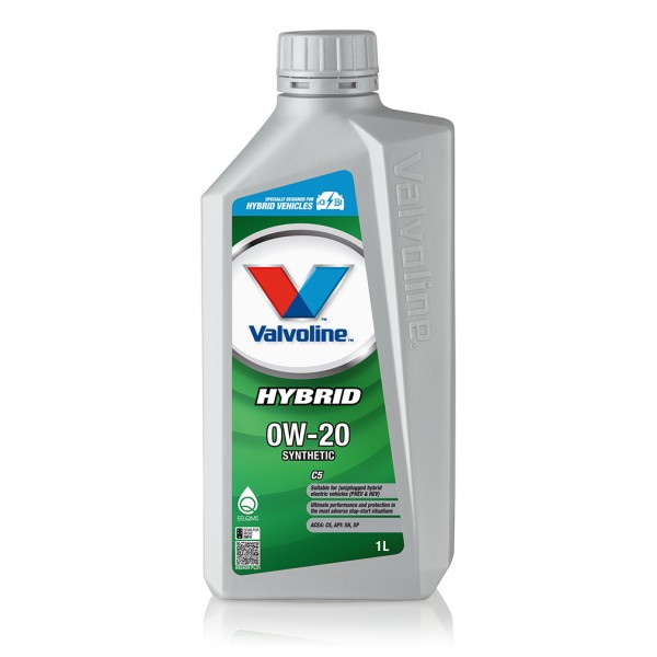Valvoline Hybrid C5 0W-20, 1л.