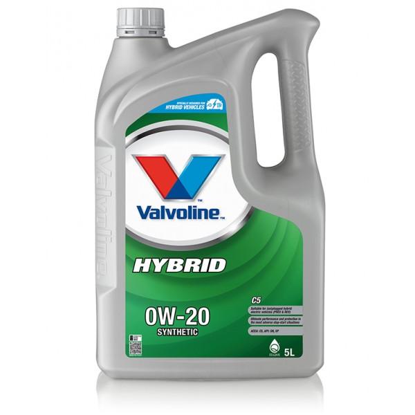 Valvoline Hybrid C5 0W-20, 5л.
